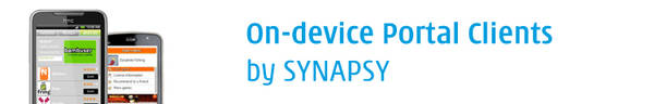 On-device Portal clients for Android, JavaME, Symbian, Bada & Brew devices